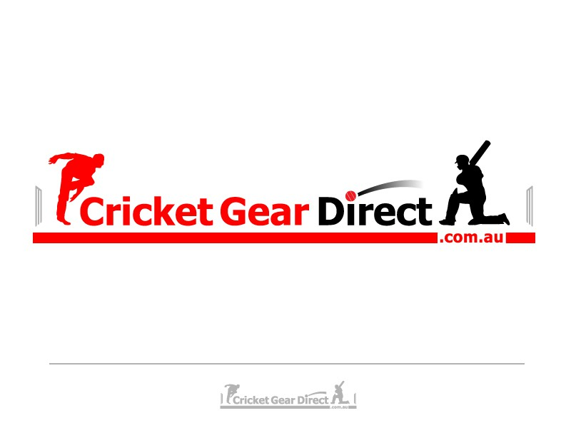 Create a logo for a new online cricket gear/equipment store. Cricket fans make a submission!
