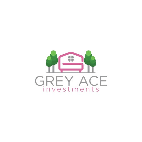 Design a fun and modern logo for Grey Ace Investments