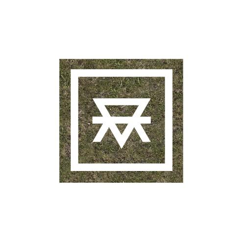 Unique masculine monogram for MotherEarth