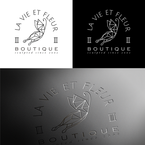 La Vie et Fleur Boutique Logo