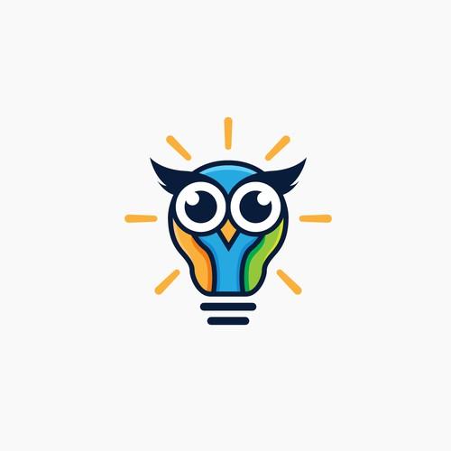 Lightbulb Owl