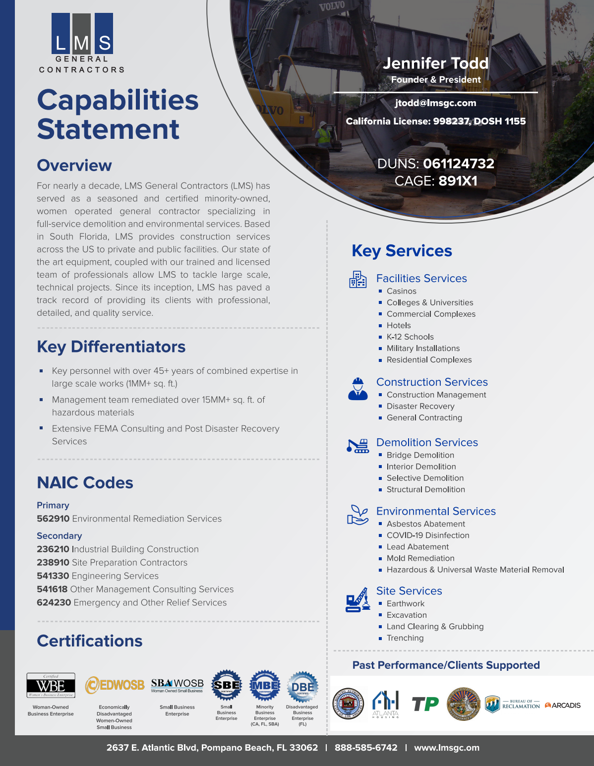 Capabilities Statment