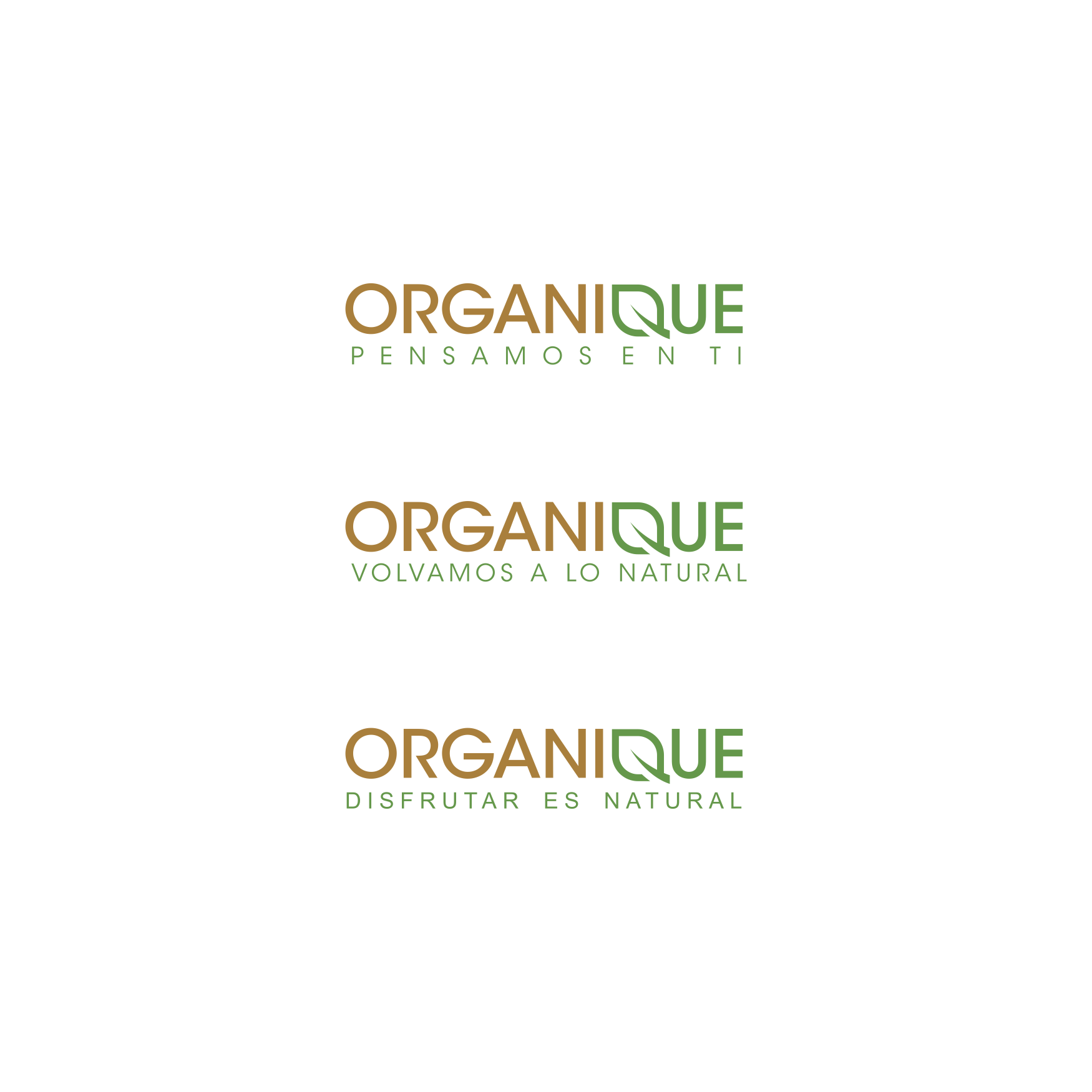 Organique needs a powerful and elegant new logo