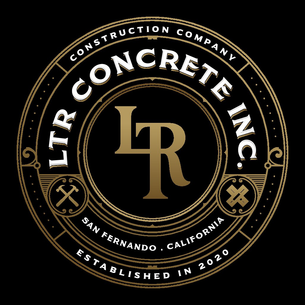 Logo for a concrete company