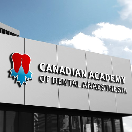 Logo concept for Canadian Academy of Dental Anaesthesia