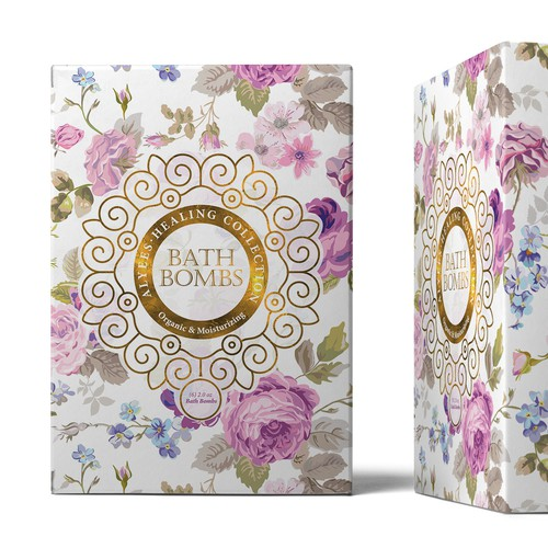 Bath Bombs package design