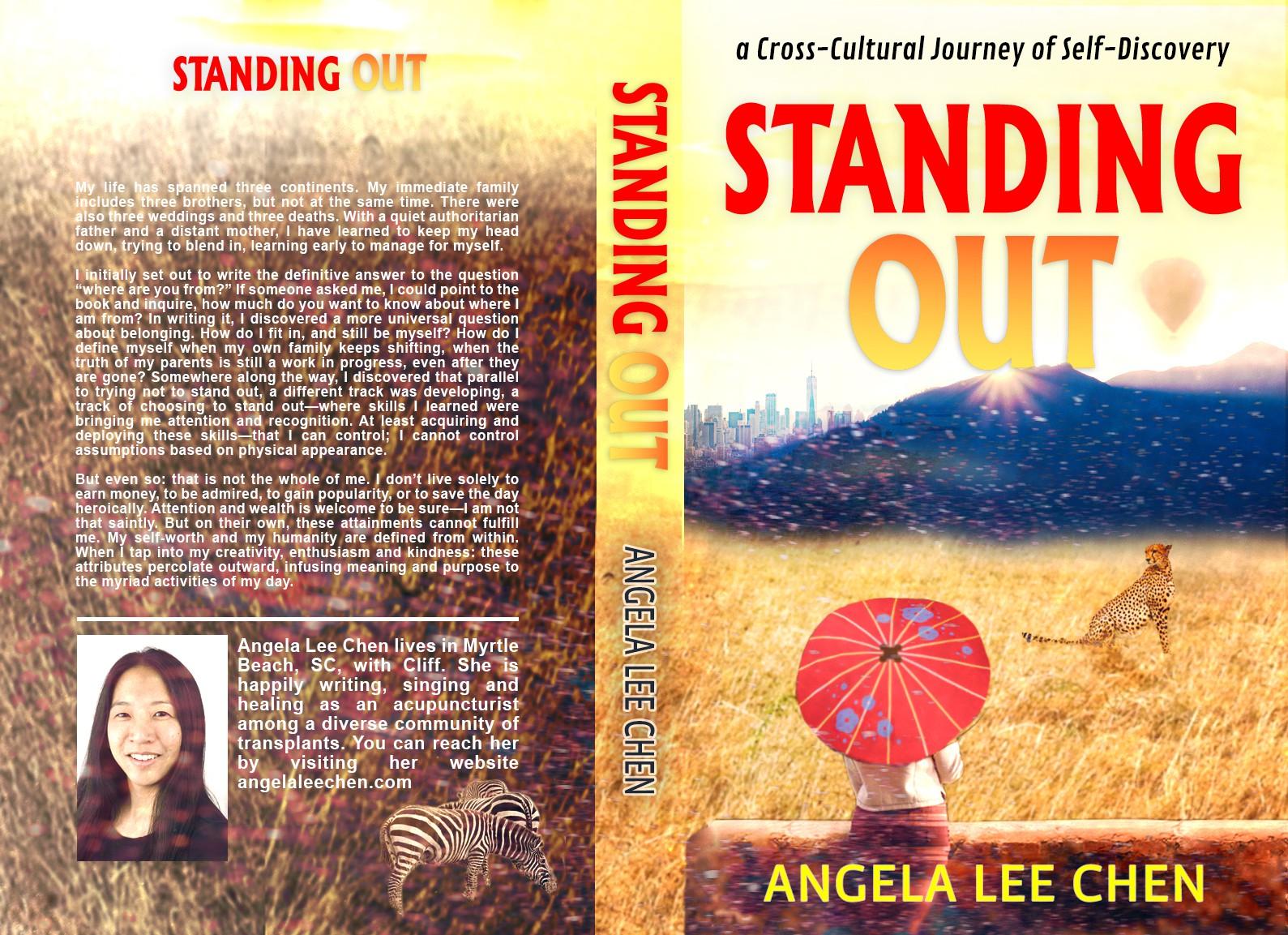 Design a cross-cultural book cover