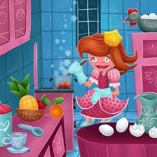 Ilustraçãopara livro infantil