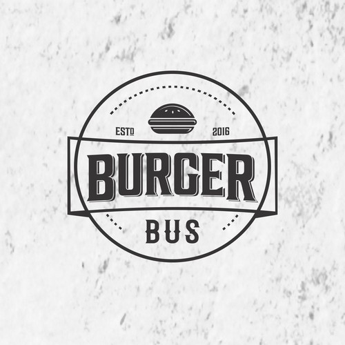 Design logo for Burger Bus