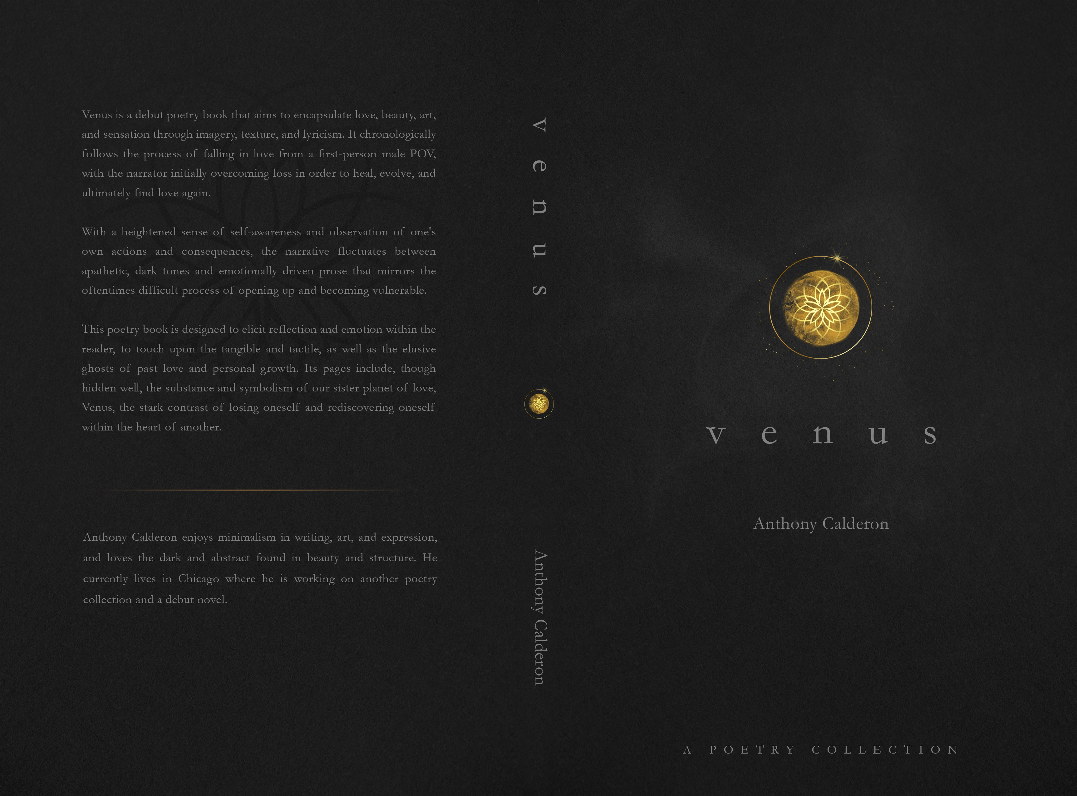 Need a Soft, Minimalistic Design to Represent the Planet of Venus (Poetry Book)