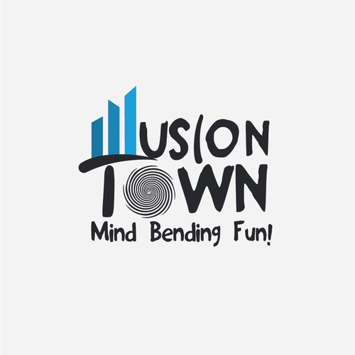 Illusion town logo