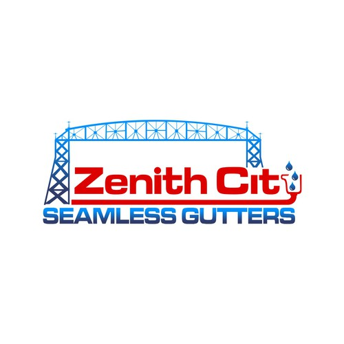 A standout logo for a seamless gutter company.