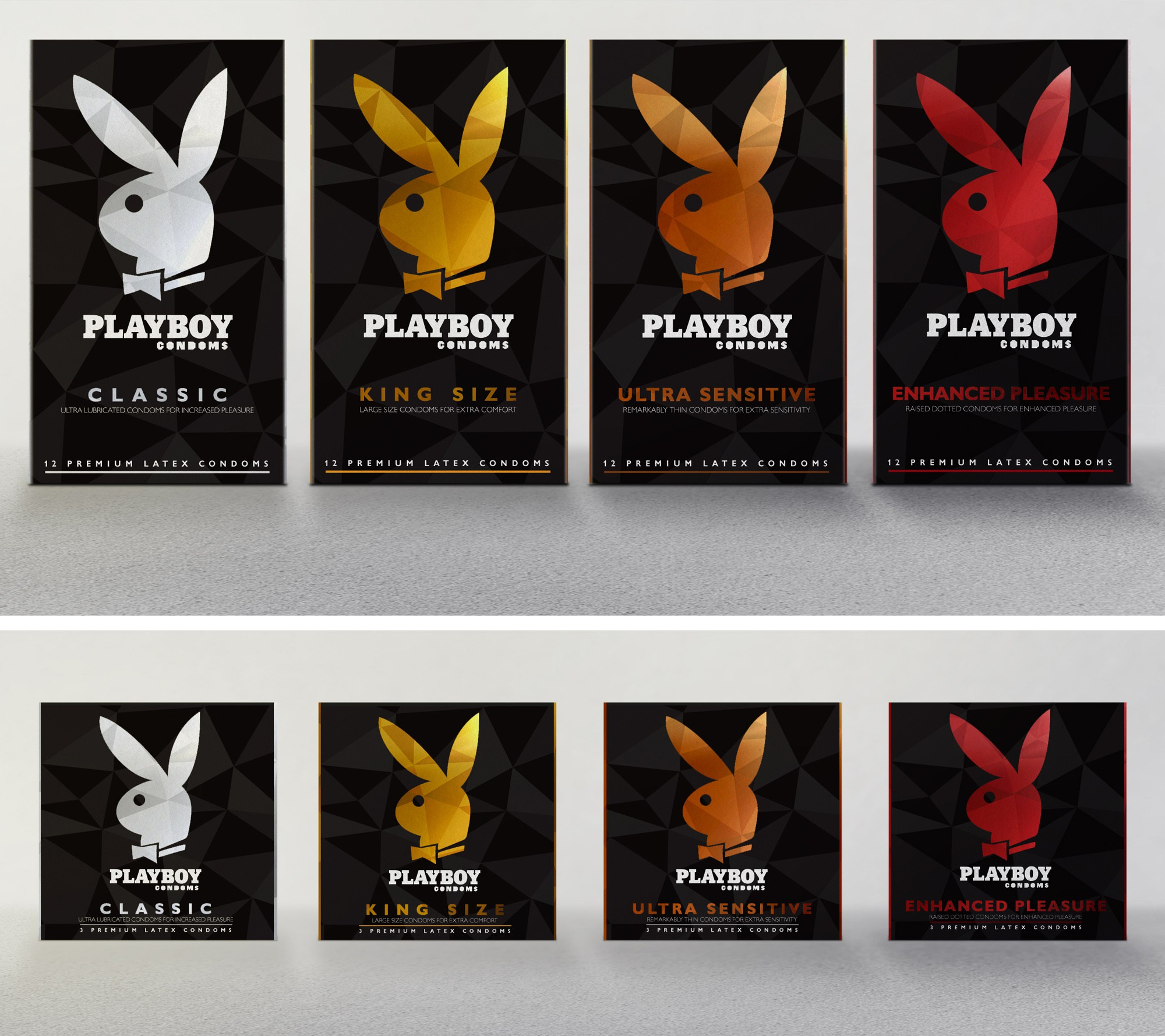 New print or packaging design wanted for Playboy Condoms