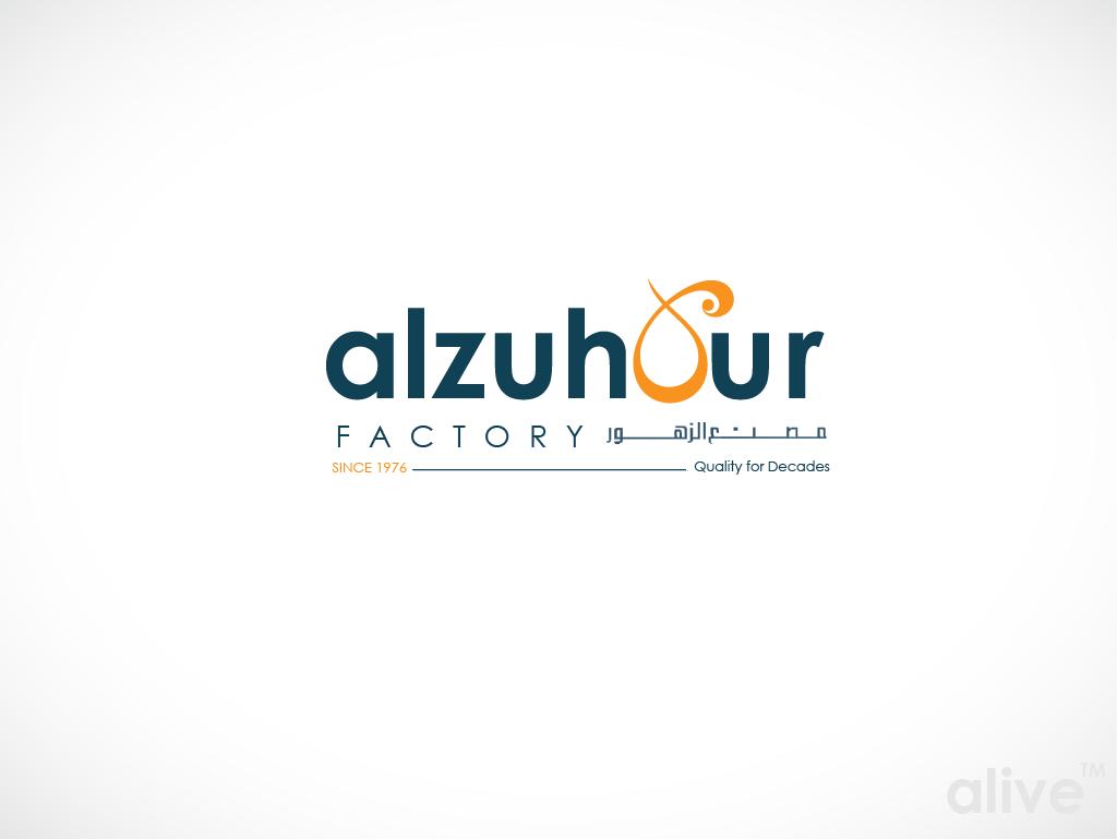 Help Alzuhour Factory - مصنع الزهور with a new logo