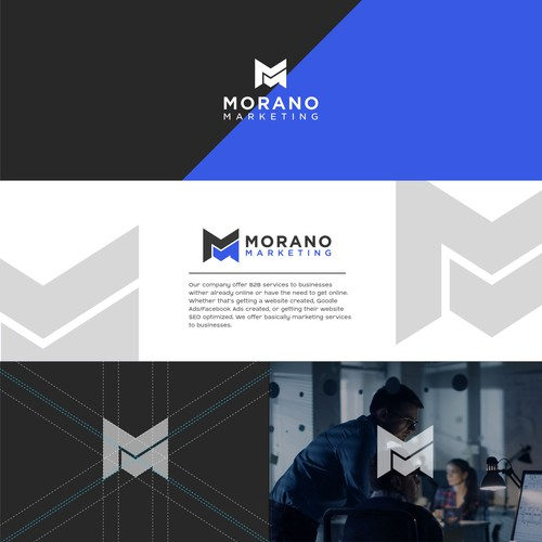 MORANO MARKETING LOGO DESIGN
