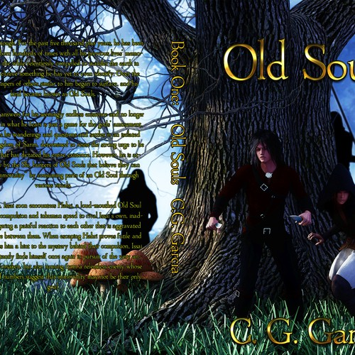Entry for Book Cover Old Souls