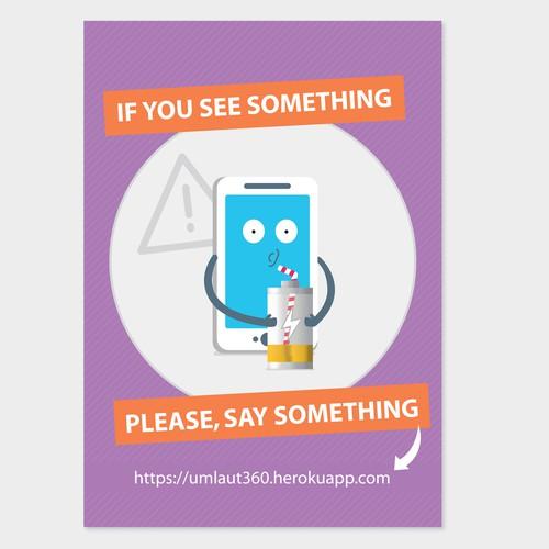 Life360, Internal comunication poster.