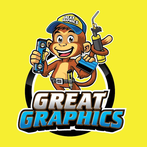 Great Graphics Mascot and Logo Designs