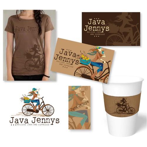 Creative ideas, please! Java Jenny's needs a logo!