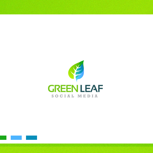 Branding Green Leaf