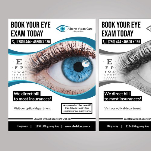 Optometrist flyer