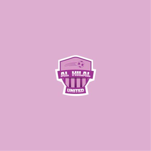 Soccer team logo for Al Hilal united