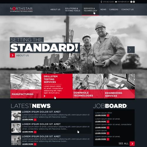 Northstar Downhole Technologies Web Design