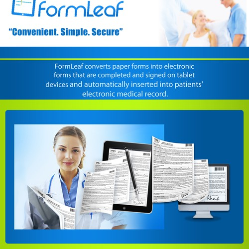 Create the next brochure design for FormLeaf
