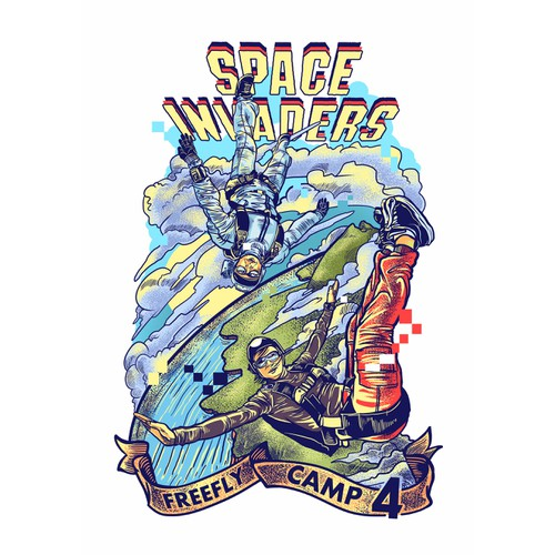 SPACE INVADERS FREEFLY CAMP 4