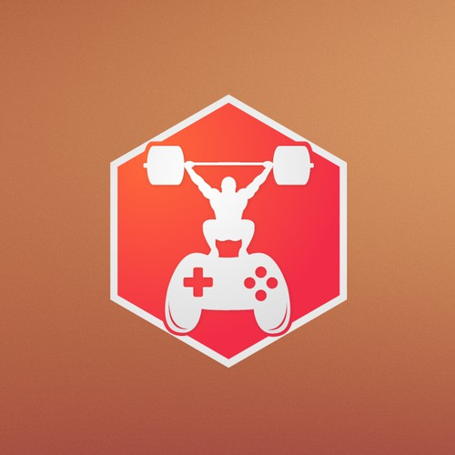 Create a gamer-fitness app Icon for PlusStrength