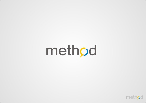 logo and business card for Method