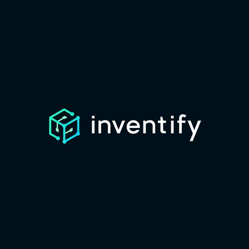 Techy logo for Inventify a blockchain based management company.