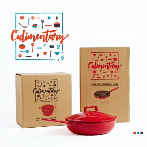 Logo for cooking accessories brand
