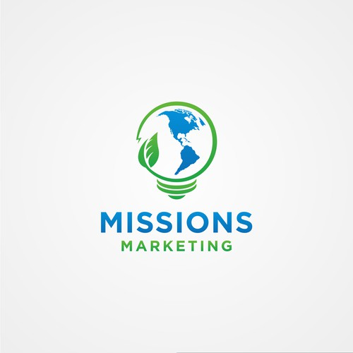 Logo design for Missions Marketing