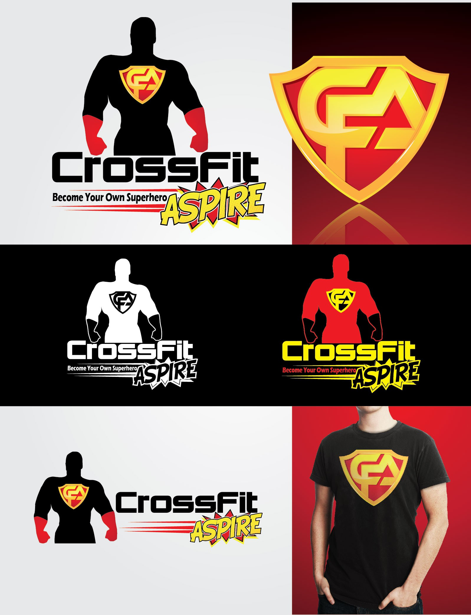 Create the next logo for CrossFit Aspire