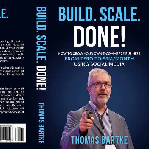 "HOT Cover For The HOTTEST E-Commerce Book ""Build. Scale. Done!"""