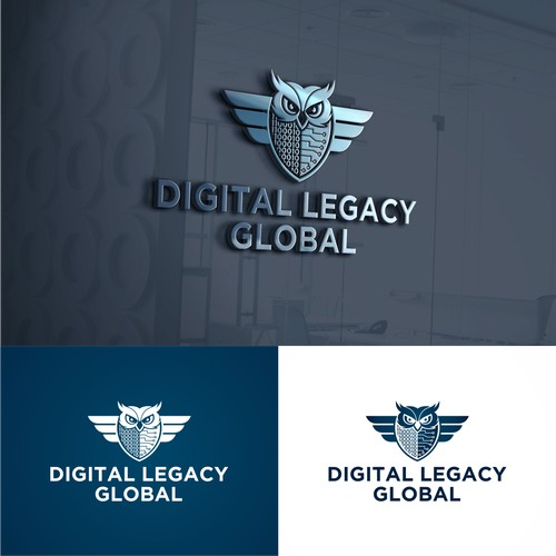logo Concept for Digital Legacy Global