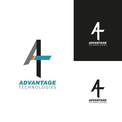 Advantage Technologies Logo Re-Design
