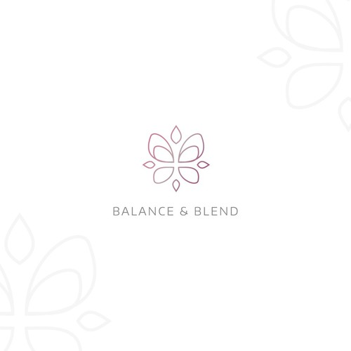 Natural health and healing logo