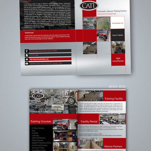 Catastrophe Adjuster Training Institute Brochure