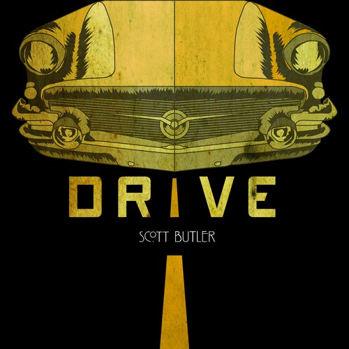 Create a Bold. Simple. Stylish piece of great Imagery for a new book. Drive.
