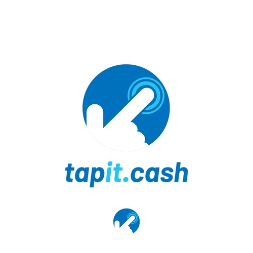 Logo concept for a cashback payment app