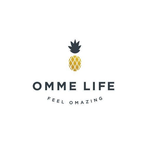 Logo design for a wellness brand.
