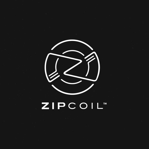 Logo concept for ZipCoil