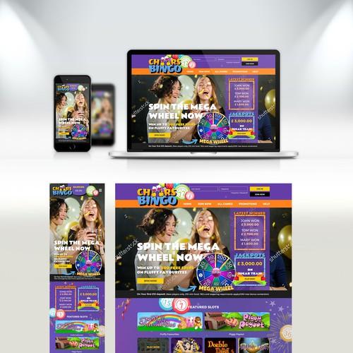 Bingo Website design