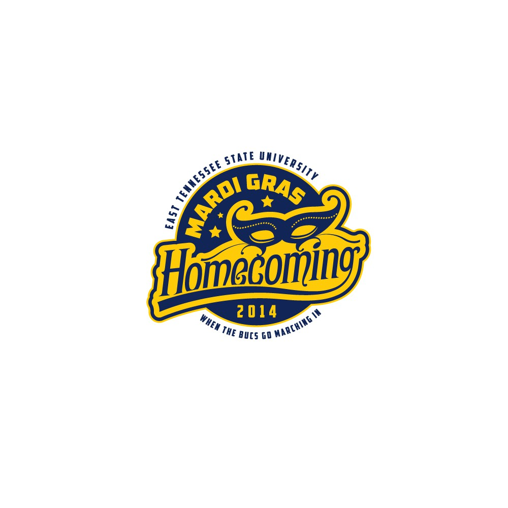 "University ""Mardi Gras"" Homecoming Logo Contest"