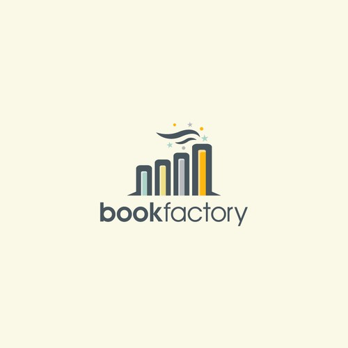 A creative concept for book factory
