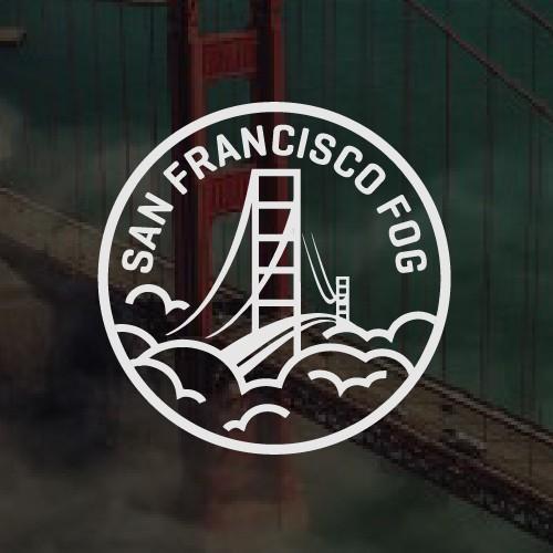 A unique logo of San Francisco Fog