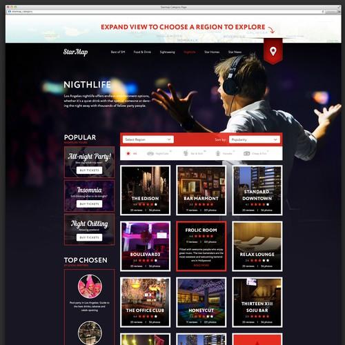 LA Travel & Sightseeing Digital Publisher Website Design