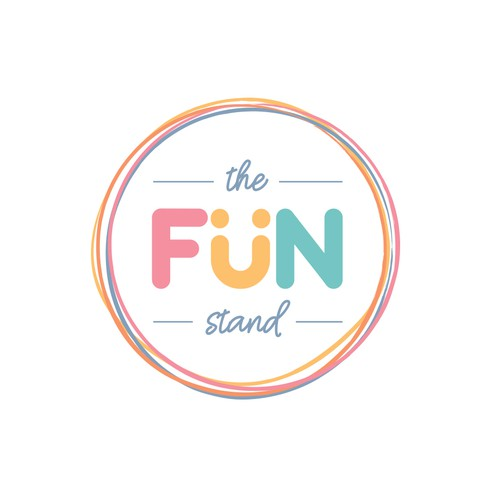 Colorful fun logo